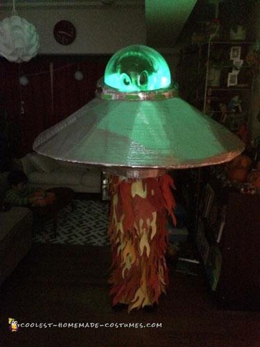 Light-Up Alien Costume