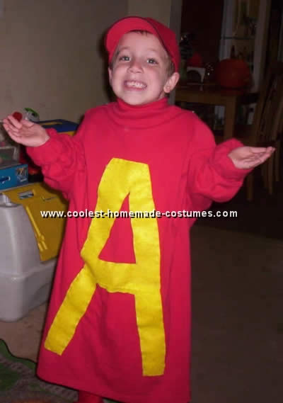 Alvin and the Chipmunks Homemade Costume
