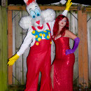 Roger and Jessica Rabbit Costumes