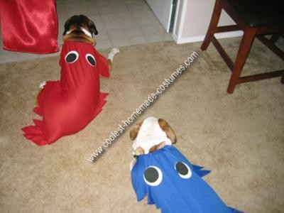 And our dogs as the ghosts