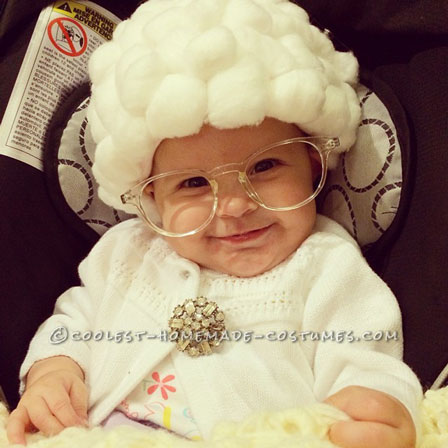 Cute Baby Halloween Costume: Sophia from the Golden Girls!