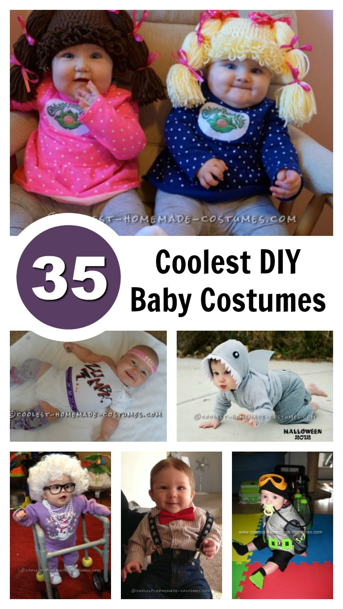 If your baby isn't comfy in their baby costume, they're not going to have any fun. And neither are you. Here are 35 easy-to-make, adborable and super-comfortable homemade baby costume ideas.