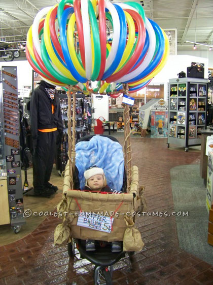 Cutest Hot Air Balloon Baby Costume