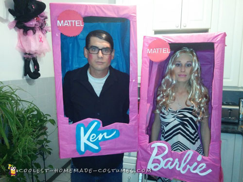 Walker Barbie and Clark Kent Ken Doll Costumes