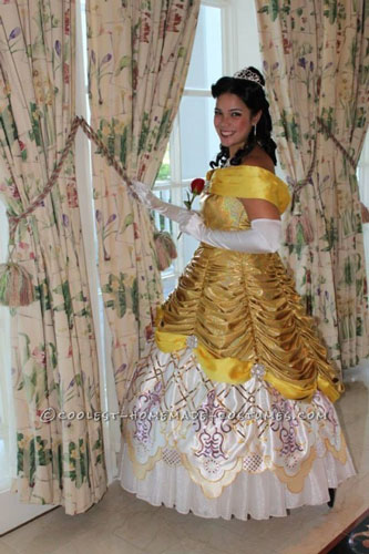 Handmade Beauty and the Beast Belle Costume
