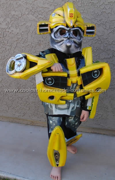 Coolest Homemade Bumblebee Costume