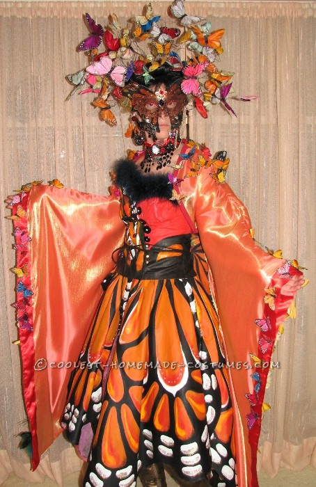Artistic Madame Butterfly Halloween Costume