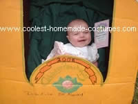 Homemade Cabbage Patch Kid Costume