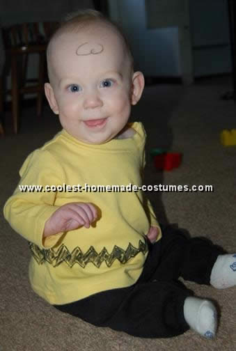 Homemade Charlie Brown Costume