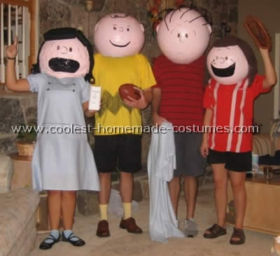 Charlie Brown Costume Lucy and Snoopy & Coolest Homemade Peanuts (Comic Strip) Costumes
