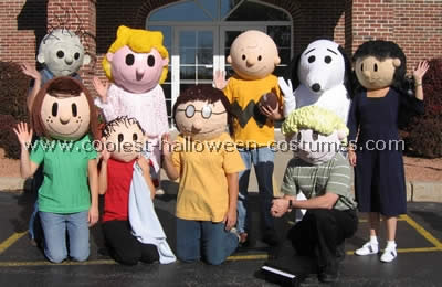 charlie brown costume lucy and snoopy
