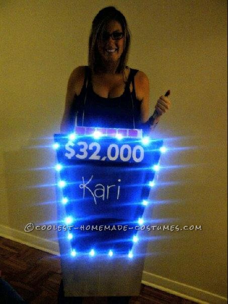 Coolest Final Jeopardy Halloween Costume That Lights Up!