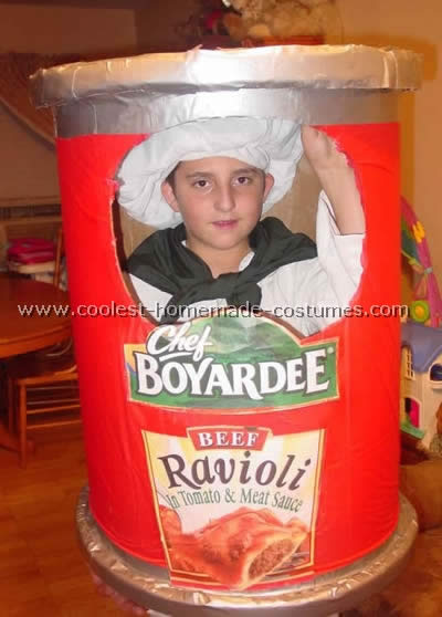 Chef Boyardee Costume