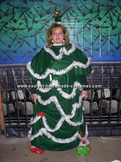 Homemade Christmas Costume