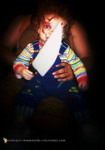 Creepy Toddler Chucky Doll Costume