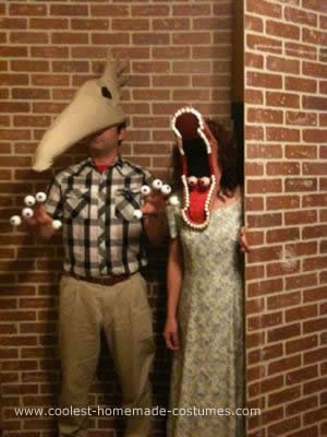 Homemade Adam and Barbara Maitland Couple Costume