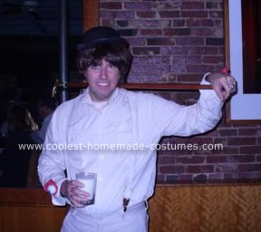 Homemade  Alex DeLarge from A Clockwork Orange Costume