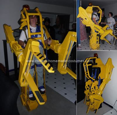 Homemade Aliens Powerloader Costume