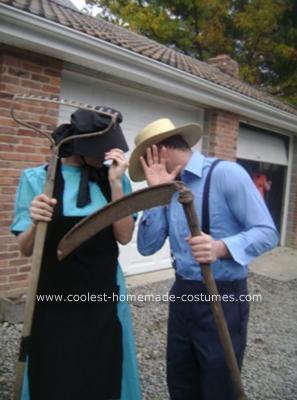 Amish Couple Costume