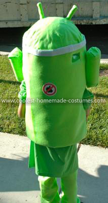 Homemade Android Costume