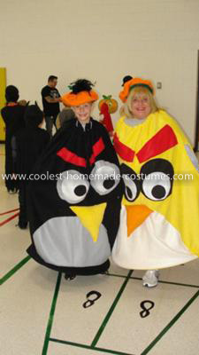Coolest Angry Birds Couple Costume 9
