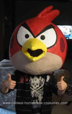 Homemade Angry Birds Iowa Style Costume