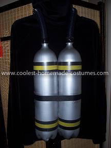 Coolest Aquarium Scuba Diver Costume 9