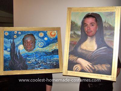 Homemade Art Masterpieces Costumes