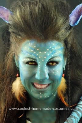Homemade Avatar Halloween Costume Idea