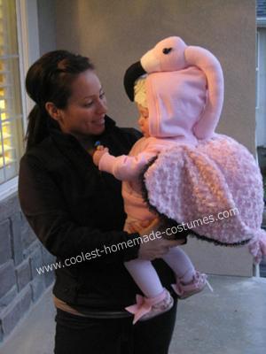 Baby Flamingo DIY Costume
