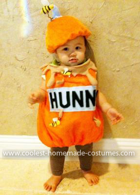 Homemade Baby Honey Jar Costume