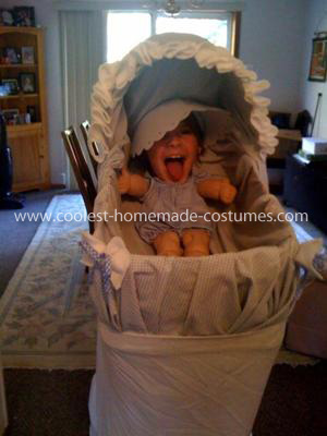 Coolest Baby in a Bassinet Illusion Costume