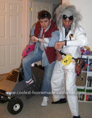 Homemade Back to the Future Couple Costume