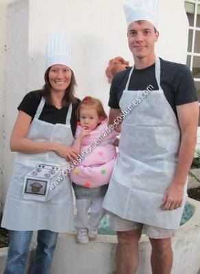 Bakers and Cupcake Halloween Costumes