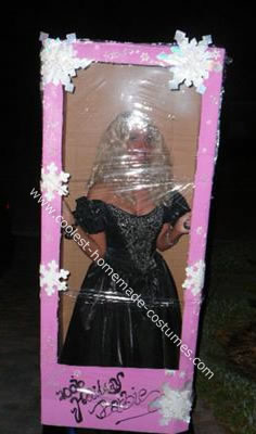 Barbie in Box Costume