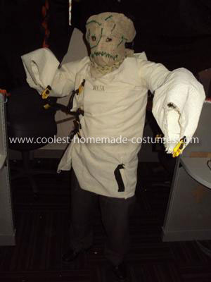 Homemade Batman Scarecrow Costume