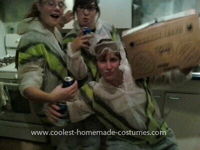 Homemade Beastie Boys Costume