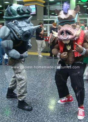 Bebop and Rocksteady Costumes