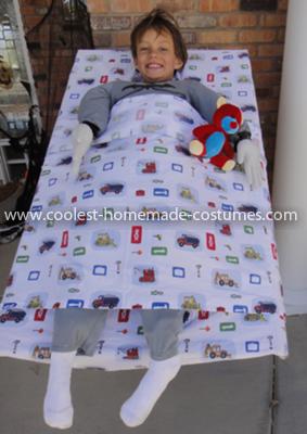 Coolest Bedhead Illusion Costume 5