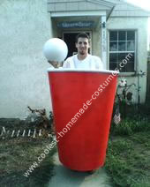 Homemade Beer Pong Costume