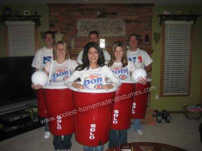 Solo Cup Costume Beer Pong Costume Red Solo Cup