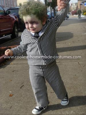Coolest Beetlejuice Child Costume 54