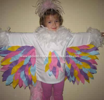 Homemade Bird Costume