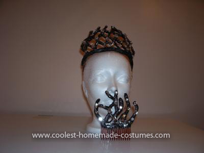 Coolest Black Swan Costume - Completed Black Swan Tiara and Comb