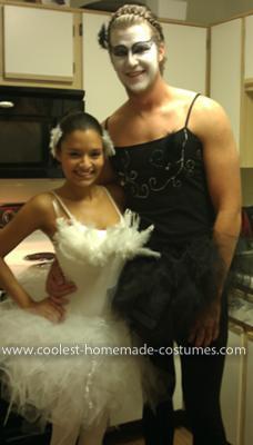 Homemade Black Swan Couple Costume