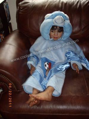 Blanket Bear Costume