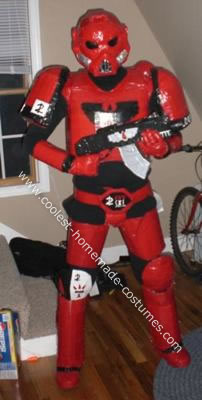 Blood angel Space Marines Costume