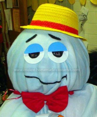 Homemade Boo Berry Costume