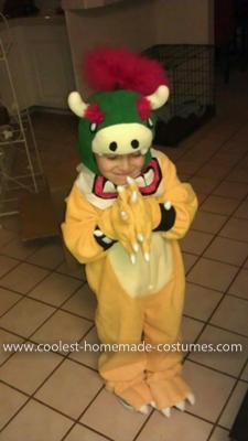 Coolest Bowser Jr. Costume 7