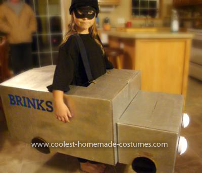 Homemade Brinks Burglar Costume